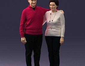 character Elderly couple 0033 3D Print Ready