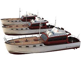 boat - powerboat 3D model