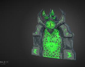 3D asset Demonic Gate of Doom