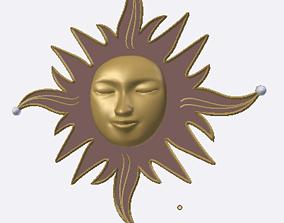 3D model Sun deco