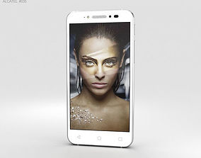 Alcatel Shine Lite Pure White android 3D
