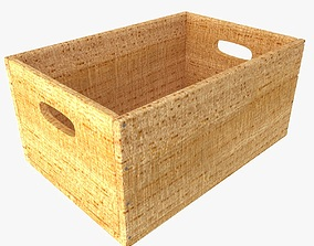 3D box low Wooden Box