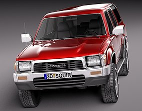 3D model Toyota 4runner 1989-1997