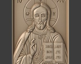 3D print model Orthodox Christian Icon of Christ