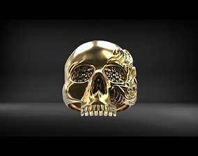 Skull ring for print 3D printable model