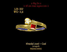 3D model low-poly ladies ring models fashion-and-beauty