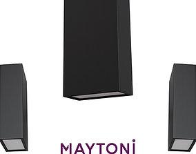 Wall lamp O581WL-L6B Maytoni Outdoor Free 3D model