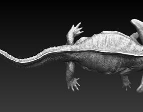 Diplocaulus fleshed out 3D model