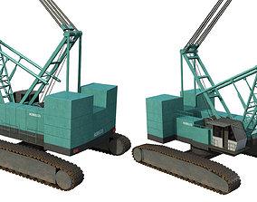 Kobelco Crawler Crane 3D