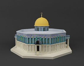 The Dome of Rock 3D printable model