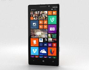 Nokia Lumia 930 Bright Orange 3D