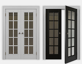 doors 3D model double door
