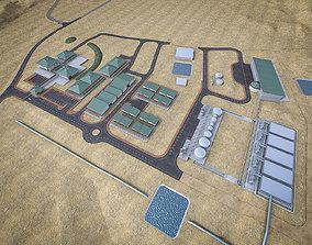 3D model Industrial Mining Factory