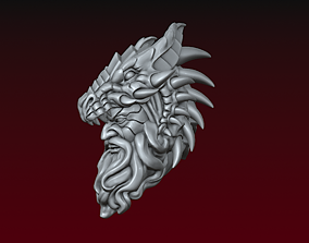 3D print model Dragon spirit head