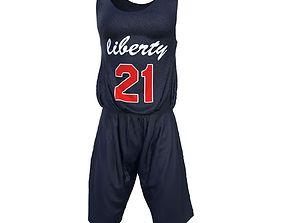 Basketball Clothing 3D asset