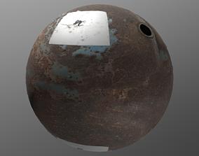 3D PBR Barrel 1