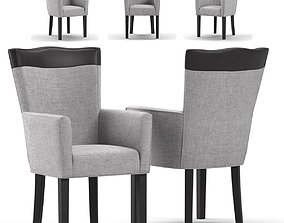 Arhaus Aiden Dining Arm Chair 3D model