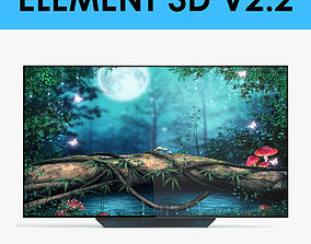 E3D - LG OLED65B8PUA OLED Smart TV