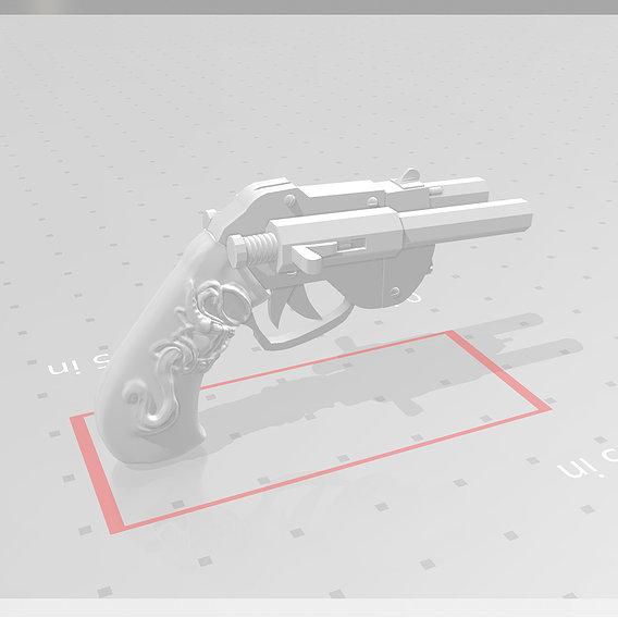 Double Barreled Pistol (Sympathy for Lady Vengeance)