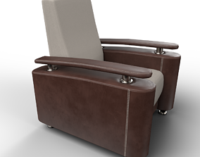 3D asset game-ready Rondo chair