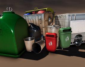 3D model Container Set