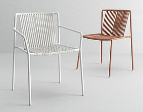 3D Pedrali Tribeca chairs