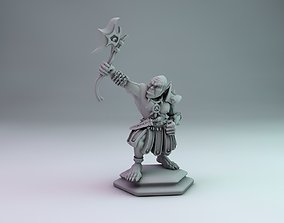 orc warrior 3D printable model
