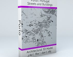 3D model porto Porto Streets and Buildings