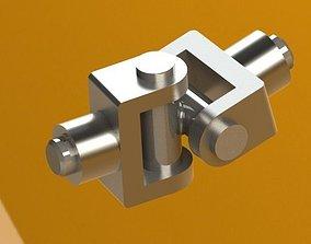 3D model Universal Coupling coupling