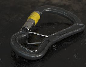 outdoors 3D model Carabiner