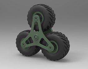 3D model Terrastar wheel system