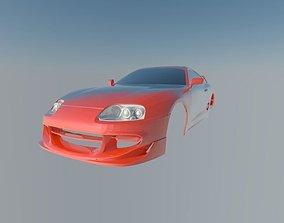 Toyota Supra 3D printable model