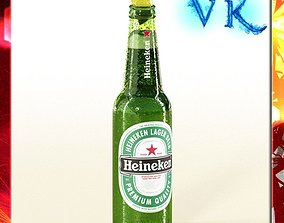 3D model Heineken Beer Bottle