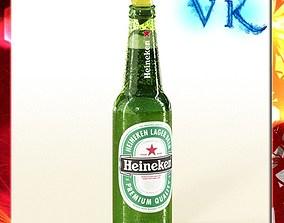 3D model Heineken Beer Bottle