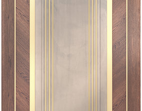 3D model Decor wood Panel 29