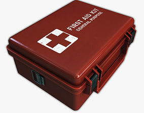 First Aid Medical Kit 3D model