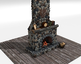 architecture 3D Fireplace