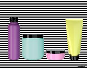 3D model Cosmetic Jars