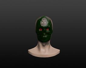 3D Acid Faced Human Head