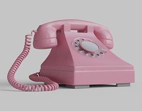 3D asset Telephone Pbr