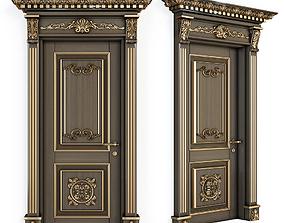 Classic door for cnc 3D