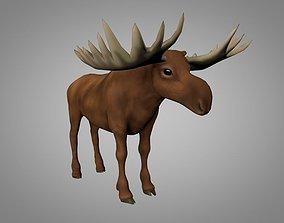 Moose 3D model