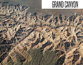 Grand Canyon 40x40 km land 3D