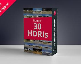 3D 30 HDRIs Bundle