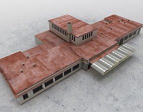 LKKV Old Terminal 3D model
