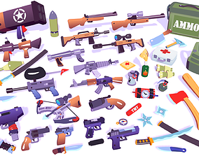 Hypercasual Action Props Pack 3D asset