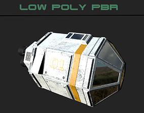 3D model Sci-fi Escape Pod