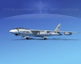Boeing B-47E Stratojet V02 3D