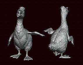 Goose Baby goose Gosling 3D printable model