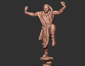 Shaolin monk remix - 35mm scale 3D print model